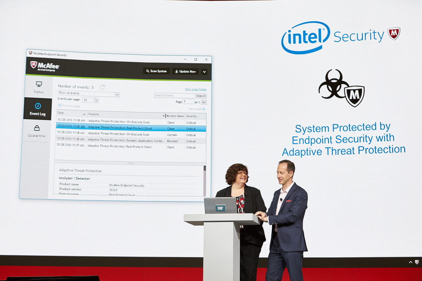 Conference Event Management - McAfee by Intel 2016 | EVI Case Study