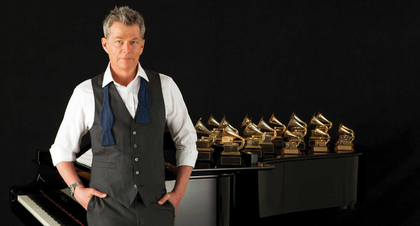16-time Grammy Award-winning David Foster