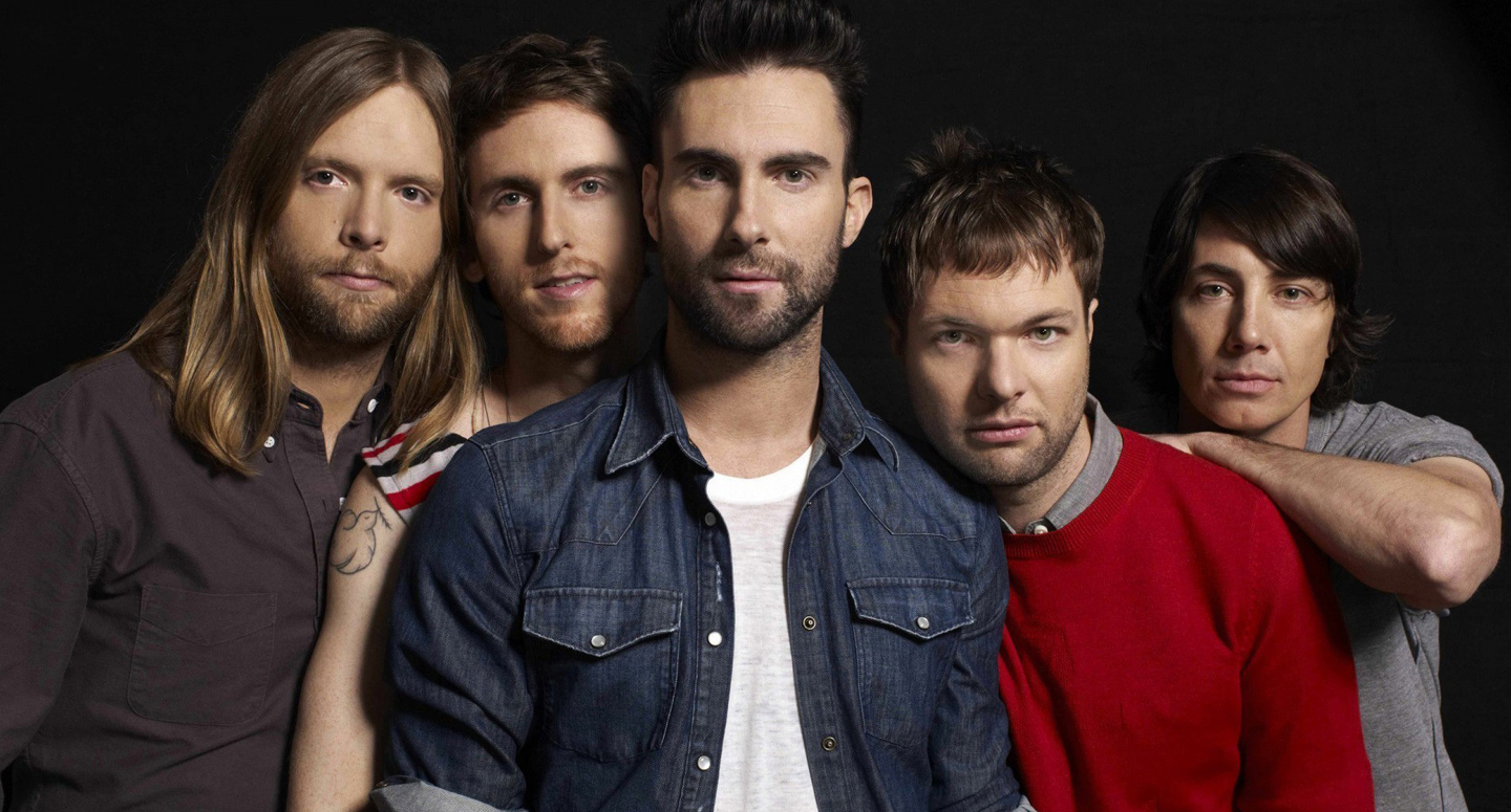 EVI can serve as the booking agent for Maroon 5