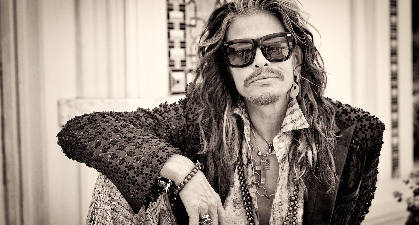 Steven Tyler can be booked for corporate or private events