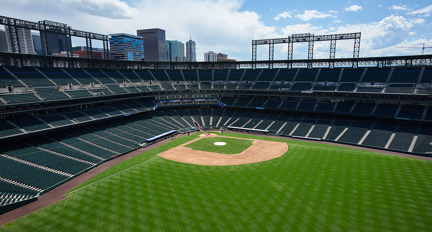 Coors Field in Denver, Colorado