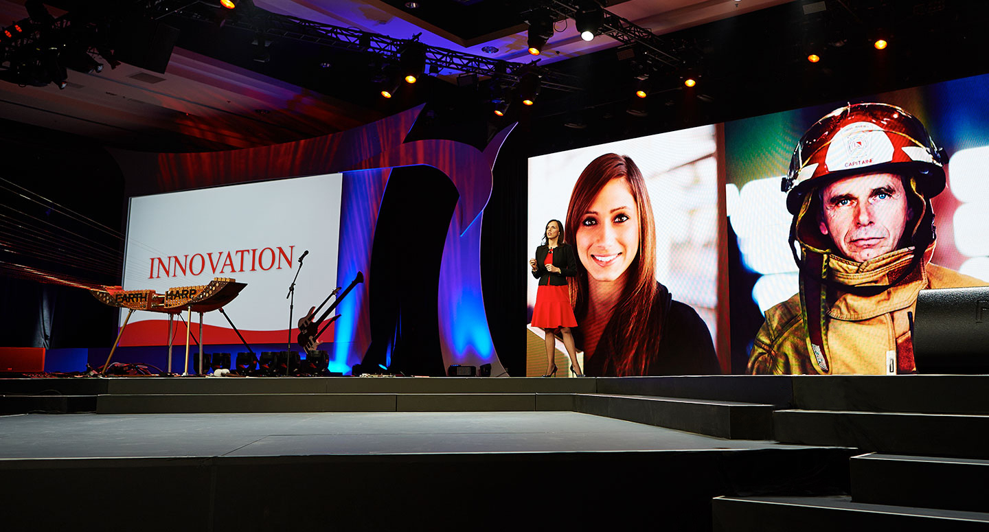 Impactful corporate event production