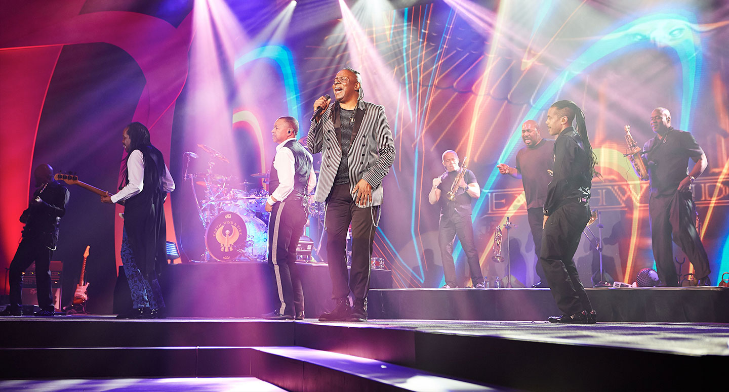 EVI books Earth, Wind and Fire as corporate entertainment