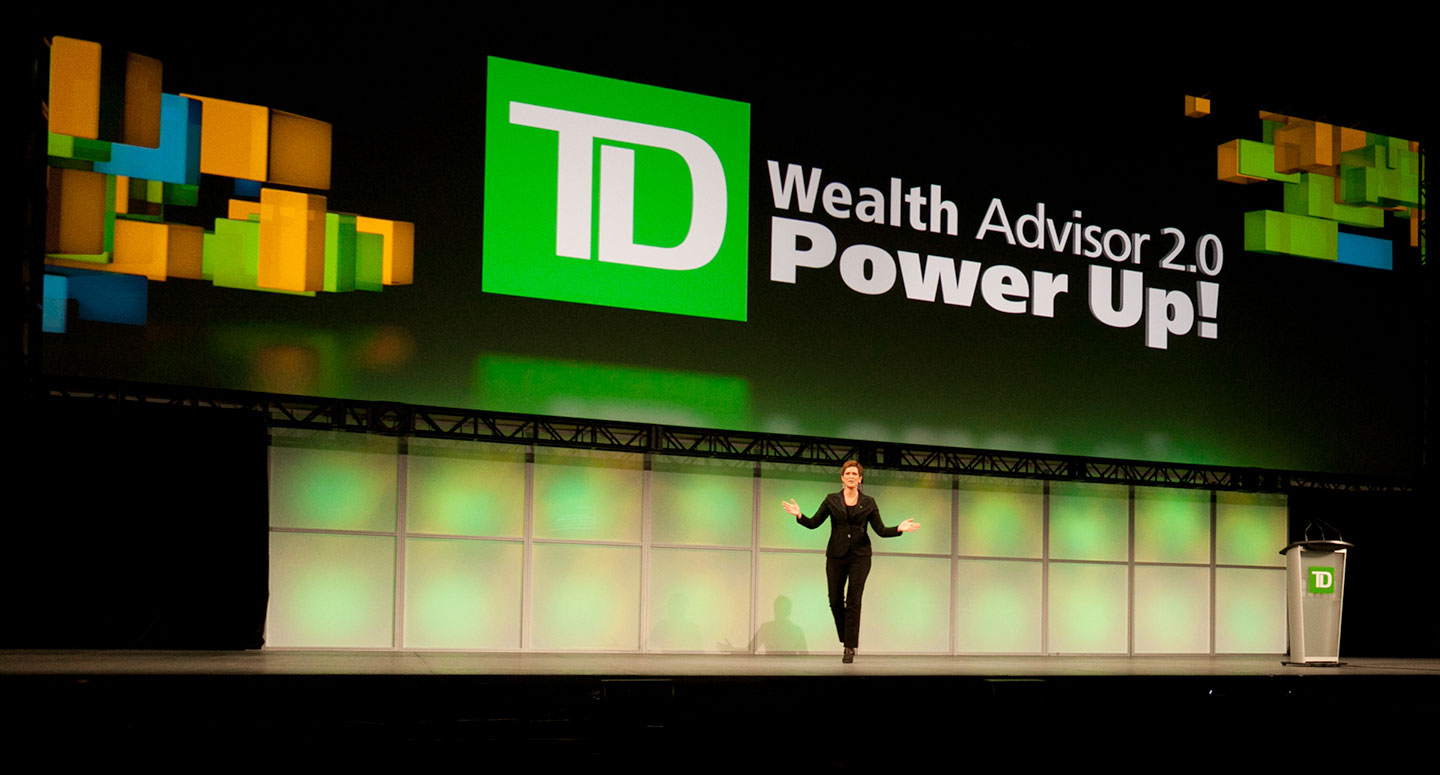 Product launch event for TD Wealth Management