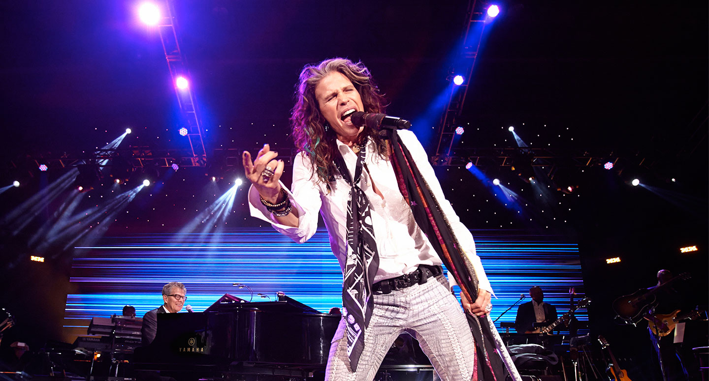 Steven Tyler headlines 2014 David Foster Foundation Miracle Gala and Concert