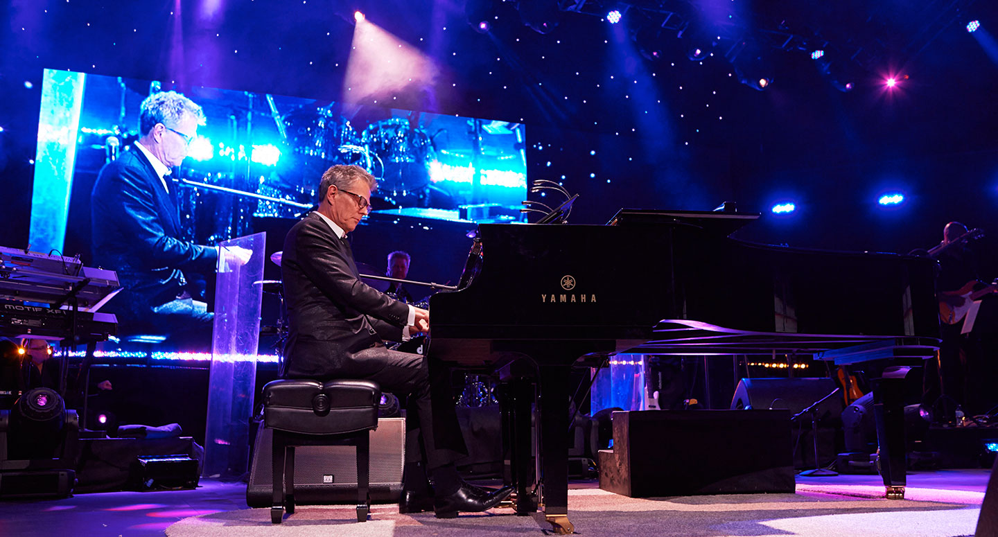 16-time Grammy winning producer, composer, arranger David Foster