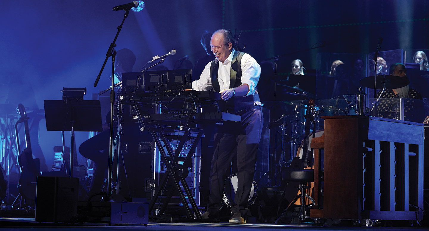 Legendary film composer, Hans Zimmer performs