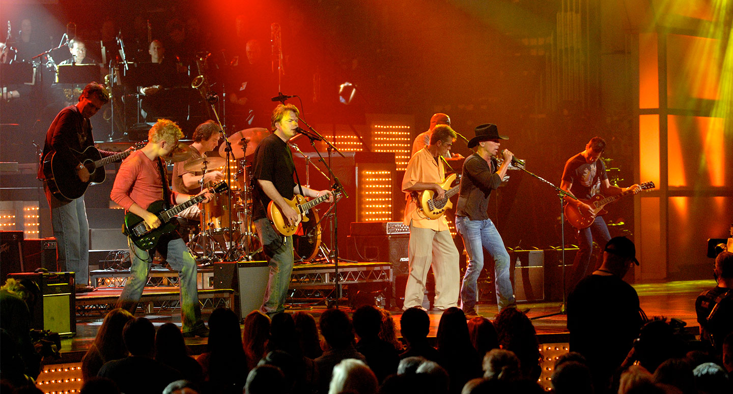 Kenny Chesney performs at The Concert for America's Kids