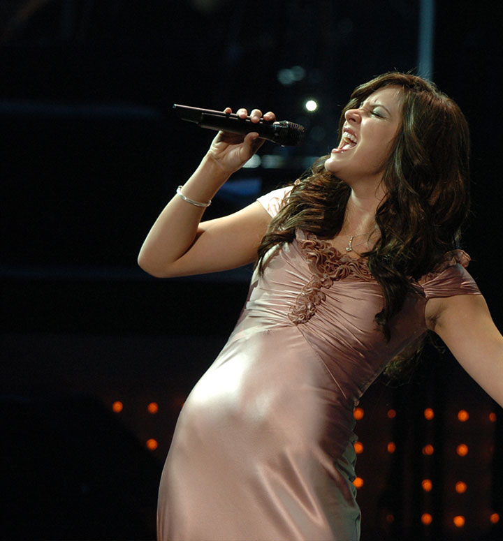 Martina McBride performs live during televised event