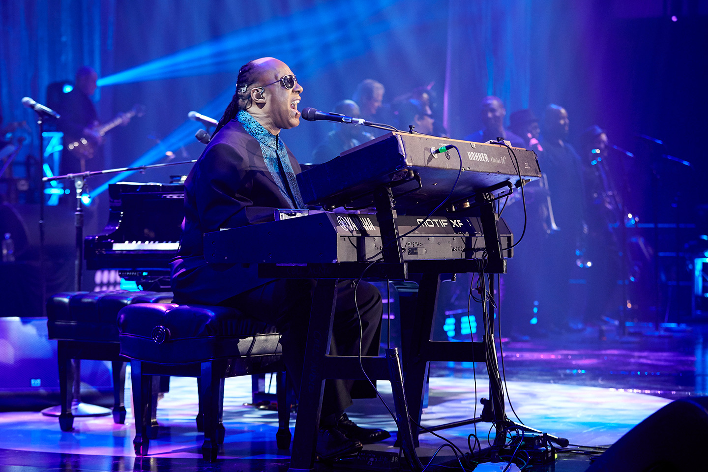 Stevie Wonder at EVI produced corporate concert
