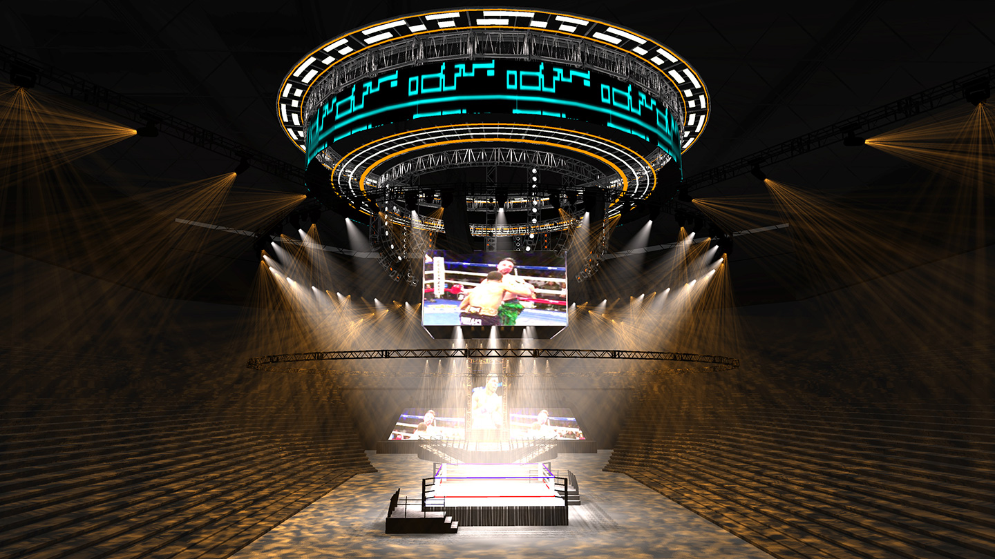 State-of-the-art event production for Premier Boxing Champions