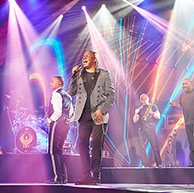 Earth, Wind and Fire perform at branded event