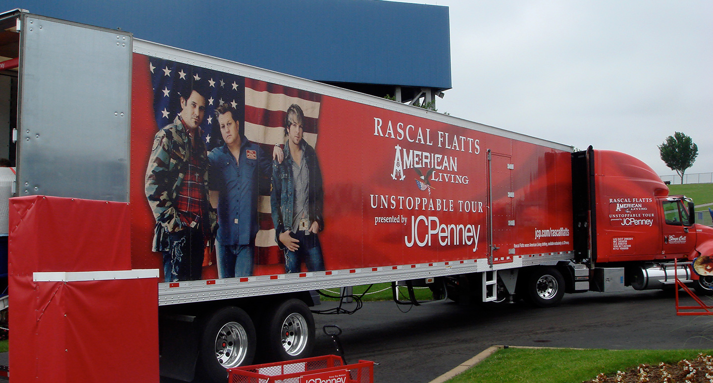 JCPenney tour sponsorship of Rascal Flatts