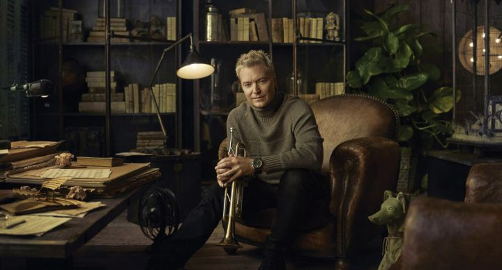Chris Botti can be booked for corporate or private events