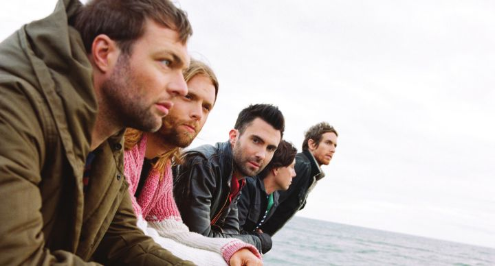 Maroon 5 can be booked for corporate or private events
