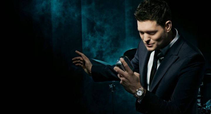Michael Buble can be booked for corporate or private events