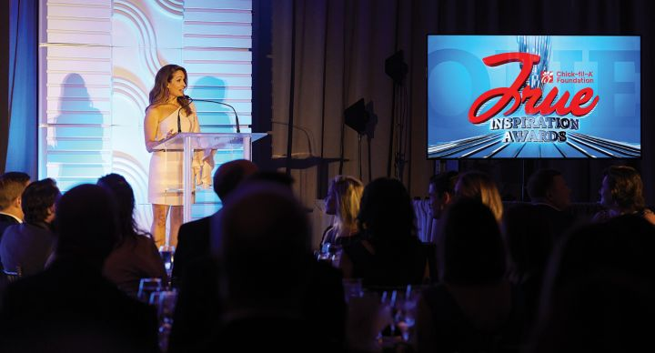 HLN News Anchor Christi Paul as emcee
