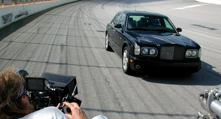 Shooting The Ultimate Driver's Bentley