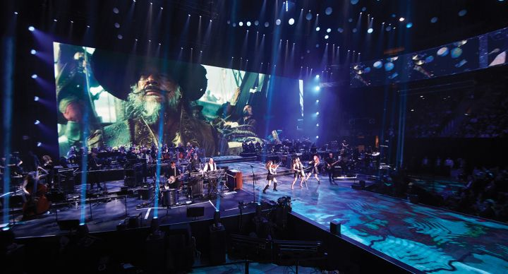 One-of-a-kind event production for The Hans Zimmer Experience