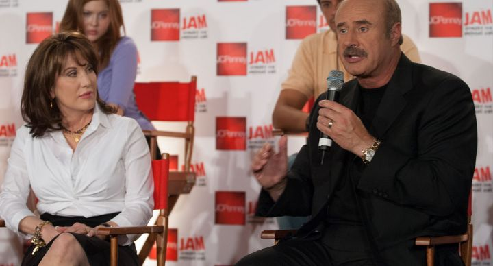 Dr. Phil participates in press conference