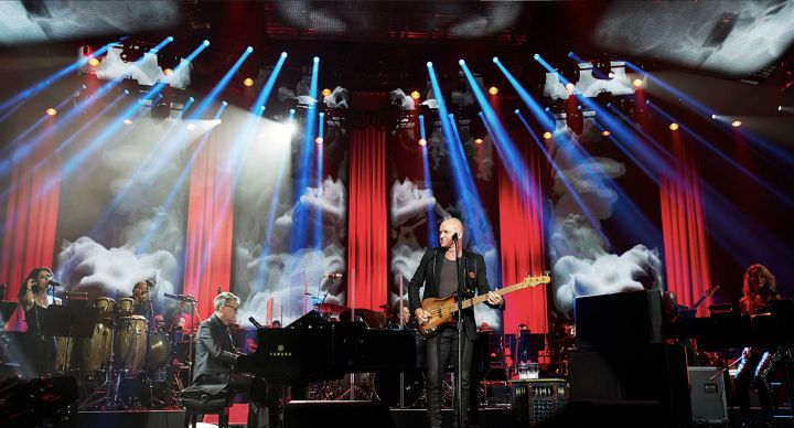 David Foster performs with Sting at corporate event produced for McDonald's