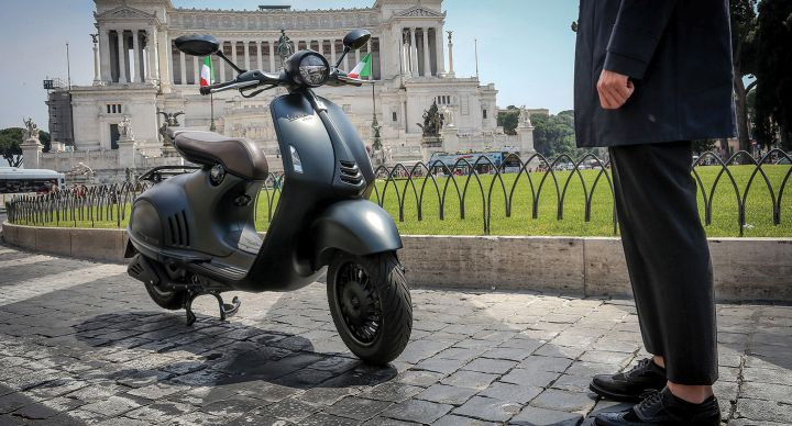 Capturing the essence of the Piaggio brand