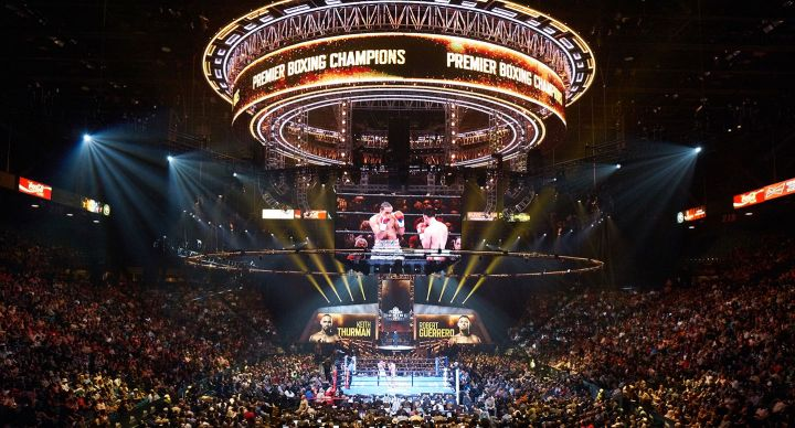 Live event production for Premier Boxing Champions