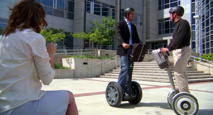 Corporate image video production for Segway